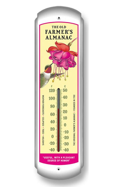 Almanac Hummingbird Thermometer The Old Farmer S General
