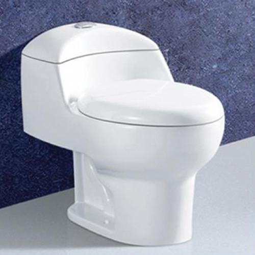 Richford Siphonic One Piece Toilet Set S-Trap RC010 White (TA00001-00091)