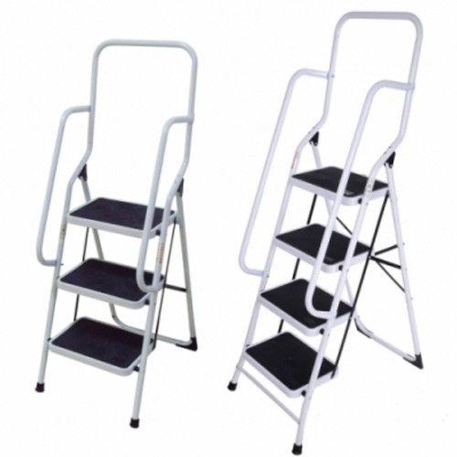 4 step steel ladder with handrails AY-T004G (AL014A)