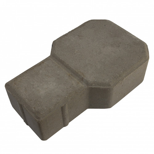 "MGM 2 Layers ""D"" Type Interlocking Paver Block D2N - Natural (PV00006-00004)"