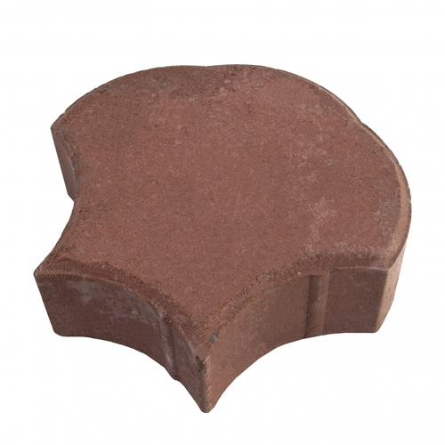 "MGM 2 Layers ""Shell"" Type Interlocking Paver Block S2R - Dark Red (PV00012-00006)"