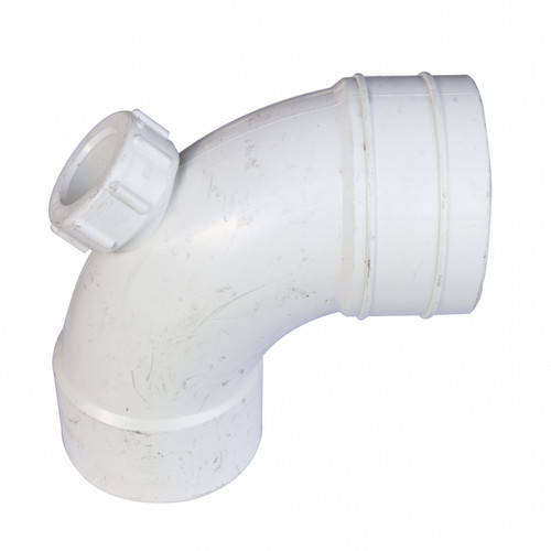 UPVC Fittings 92 1/2° Bend with Door BS4514 (P00016-00889)