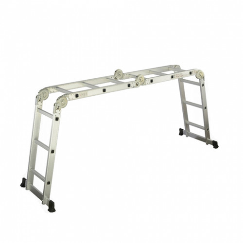 Big Hinge 4*3 steps Multipurpose ladder AY-503 (AL010B)