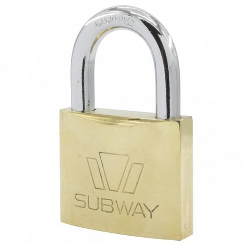 Subway Brass Padlock #265 (PL21)