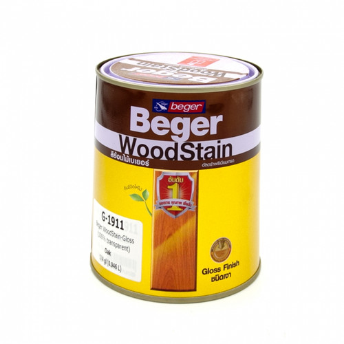 Beger Wood Stain - Gloss (100% transparent) G-1904 (BG-WSG03)