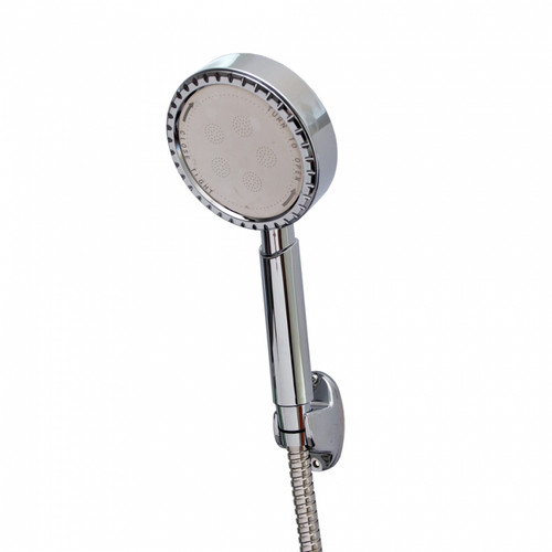 Figo Aluminium Shower Head c/w 1.5m hose and holder FG-A-8076 (SHP105)