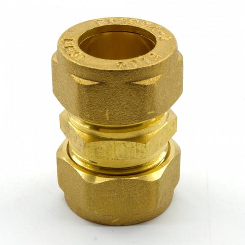 Figo Brass Coupling (15 x 15) (T&M00005-00003)