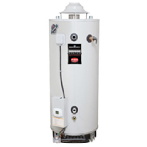 Bradford Commercial Cas Water Heater (White) 80 Gallons (19193014-3)