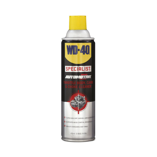 WD-40 Throttle, Carb & Choke Cleaner WDSA TB450