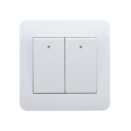 My Home Diy White 2 Gang 1 Way Switch