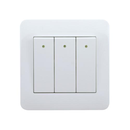 My Home Diy White  3 Gang 1 Way Switch