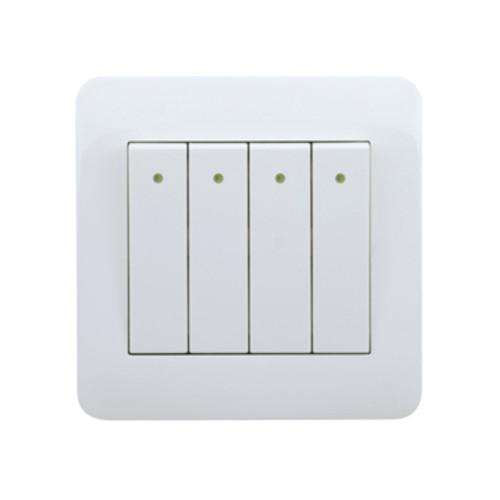 My Home Diy White 4 Gang 1 Way Switch