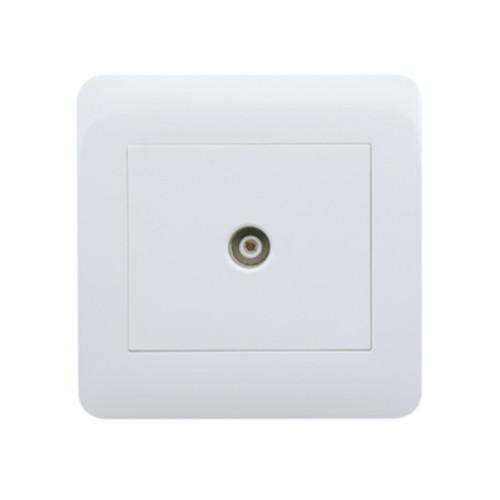 My Home Diy White Tv Socket