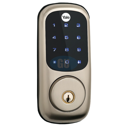 YALE REAL LIVING TOUCHSCREEN DEADBOLT DIGITAL DOOR LOCK YRD220