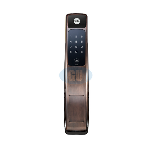 YALE RFID CARD PUSH & PULL DIGITAL DOOR LOCK YMG30