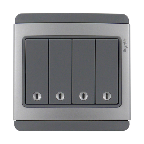 4 Gang E3034H1 EBGS Switch