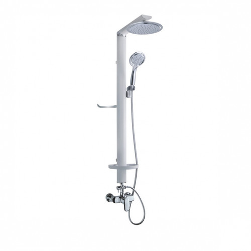 Overhead Shower Set White (Aluminium) XY-801D-W (SHP069)