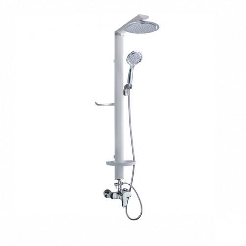 Overhead Shower Set White (Aluminium) XY-801D-W (SHP069)