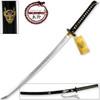 MOSHIRO Kill Bill Bud's DEMON Sword Battle Ready Katana Engraved Hattori Hanzo Steel