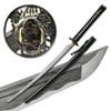 Folded Steel Samurai Sword - 1000+ Layers Battle Ready Ronin Katana