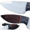 Super Skinner J2 German Steel Knife Full Tang Walnut Hardwood Handle