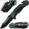 Alpha Tactical Glass Breaking Folding Knife
