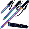 3Pcs Ninja Warrior Sword Set