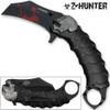 Z-HUNTER Zombie Tactical Karambit Black Knife