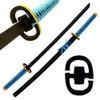 Beautiful ALL WOOD Katana Sword Black Blade