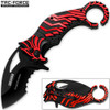 TAC FORCE Falcon Talon Serrated Karambit Collectors Series Knife