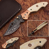 Executive Series Tactical Damascus Folding Knife
