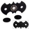 Fidget Spinner Dark Night Bat Toy Black Anxiety Stress Relief Focus EDC