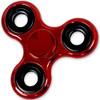 Shiny Red Metallic Color Fidget Tri-Spinner