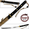MOSHIRO Modern Sporting Sword Tactical Wakizashi of Honshou 1045 High Carbon w 550 Paracord