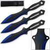 Akuma Arachnid Demon Ninja Throwing Knives 3pcs Set