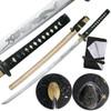 Ten Ryu Hand Forged 1045 Carbon Steel Horimono Dragon Katana Sword