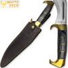 WHITE DEER MAGNUM Kukri Jungle Machete Knife HC Stainless FULL TANG 16.5in
