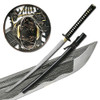 MOSHIRO Folded Steel Samurai Sword 1000+ Layers Battle Ready Ronin Katana