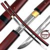 MOSHIRO Shirasaya Functional Katana Bushido Rosewood Sword