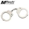 MTech USA Chrome Plated Double Lock Handcuffs