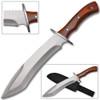 Full Tang Alamo. James Bowie Knife Wood Handle