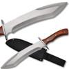 Full Tang Alamo James Bowie Knife Wood Handle