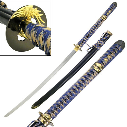 Warrior Katana Blue Sword