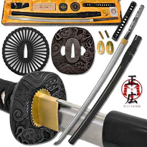 Build a Katana - Battle Ready Full Tang Sword Assembly Kit BK