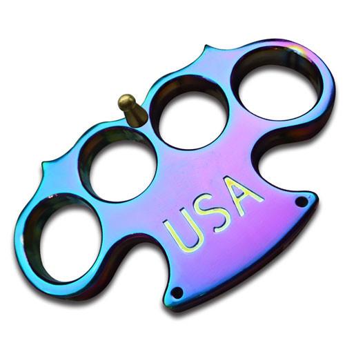 USA Heavy Duty Titanium Paperweight Buckle Knuckle