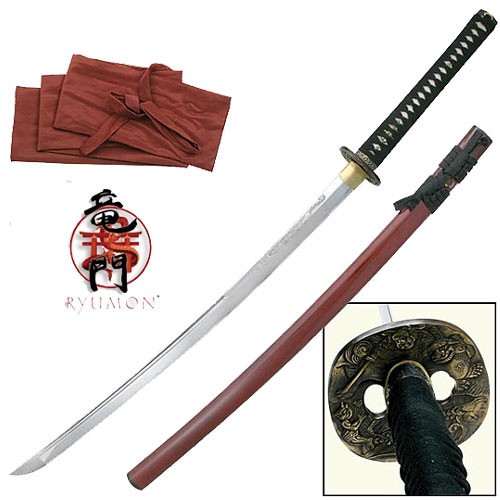Ryumon - Forged AISI 1060 Handmade Samurai Sword