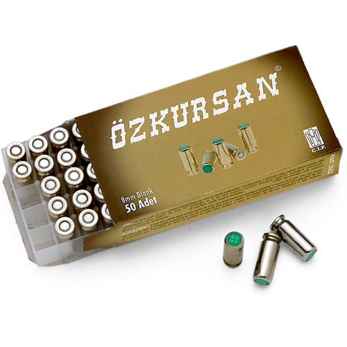 8MM Extra Loud Blank Gun Ammunition 50 Pack