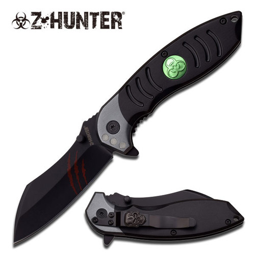 """Z-Hunter SPRING ASSISTED KNIFE 4.5"""" CLOSED"""