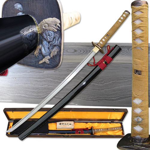 HAND FORGED SAMURAI SWORD 1