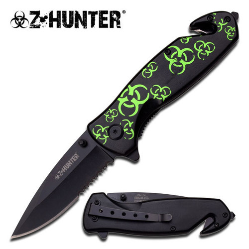 Z-Hunter Biohazard Emergency Folder Knife